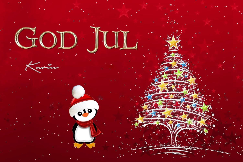 God jul billede